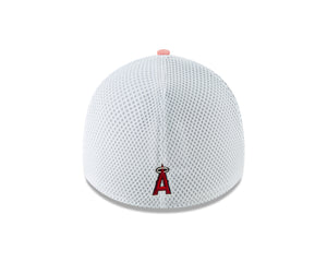 MLB Los Angeles Angels New Era Heather Front Neo 39THIRTY - Red