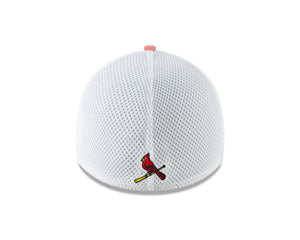 MLB St. Louis Cardinals New Era Heather Front Neo 39THIRTY - Red