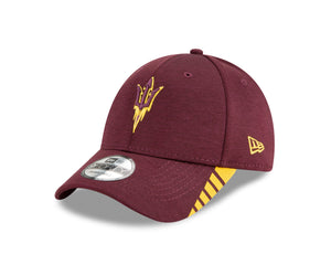 NCAA Arizona State Sun Devils New Era Visor Trim 9FORTY - Maroon