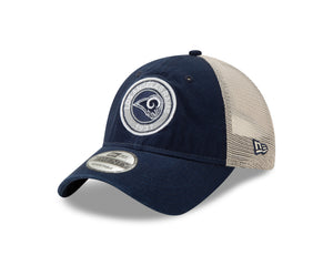 NFL Los Angeles Rams New Era Established Circle 9TWENTY - Navy