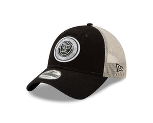 NFL Las Vegas Raiders New Era Established Circle 9TWENTY - Black