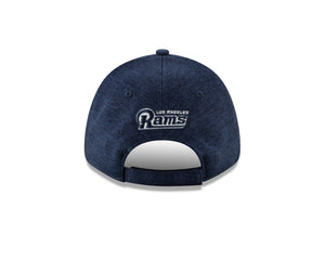 NFL Los Angeles Rams New Era Visor Trim 9FORTY - Navy