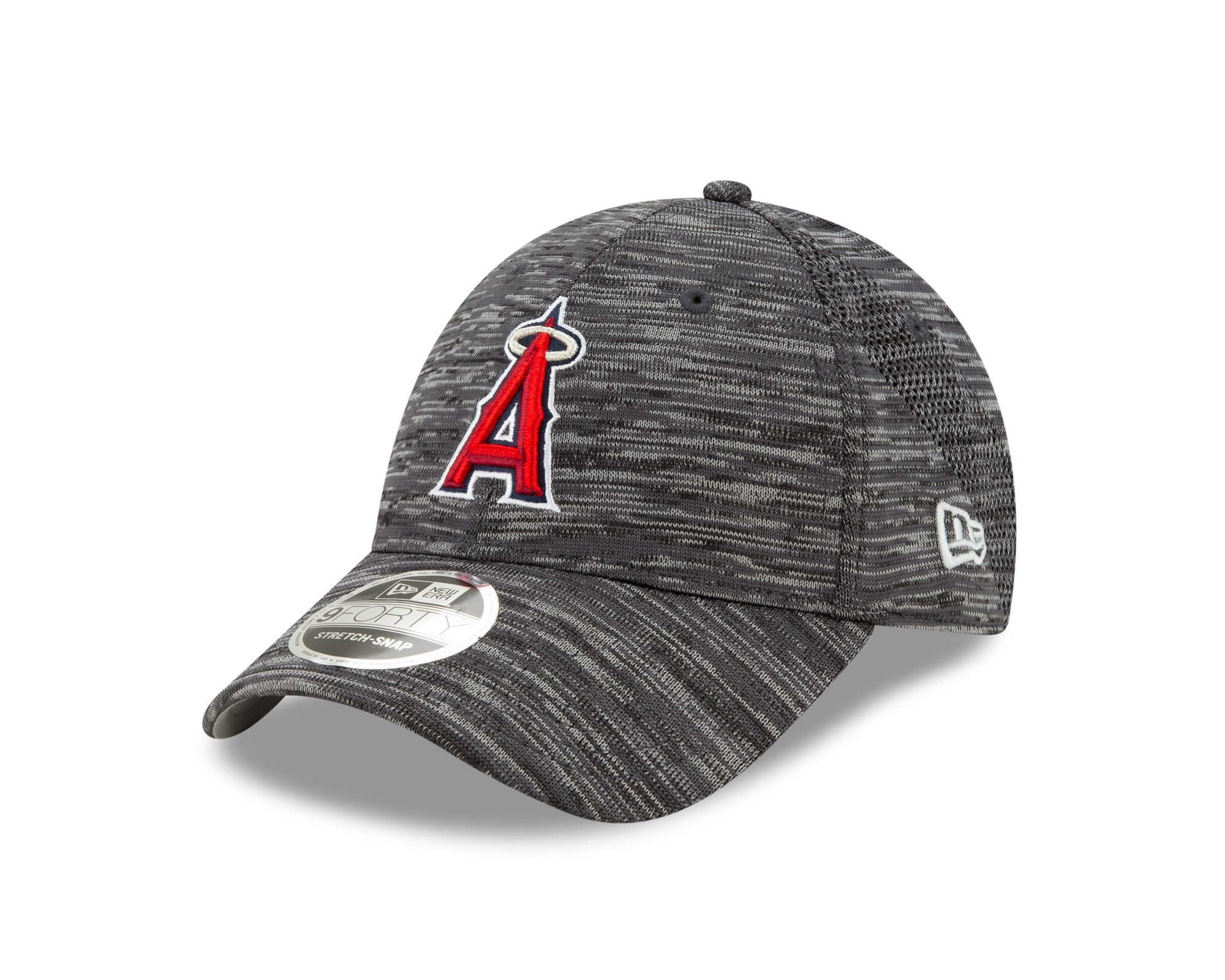 MLB Los Angeles Angels New Era Tech 9FORTY Stretch Snap - Gray