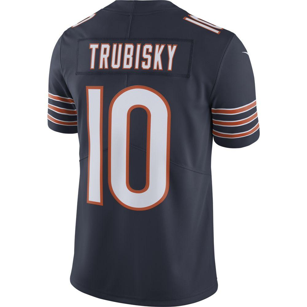 NFL Chicago Bears Mitch Trubisky Nike Limited Jersey - Navy