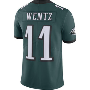 NFL Philadelphia Eagles Carson Wentz Nike Limited Jersey - Green