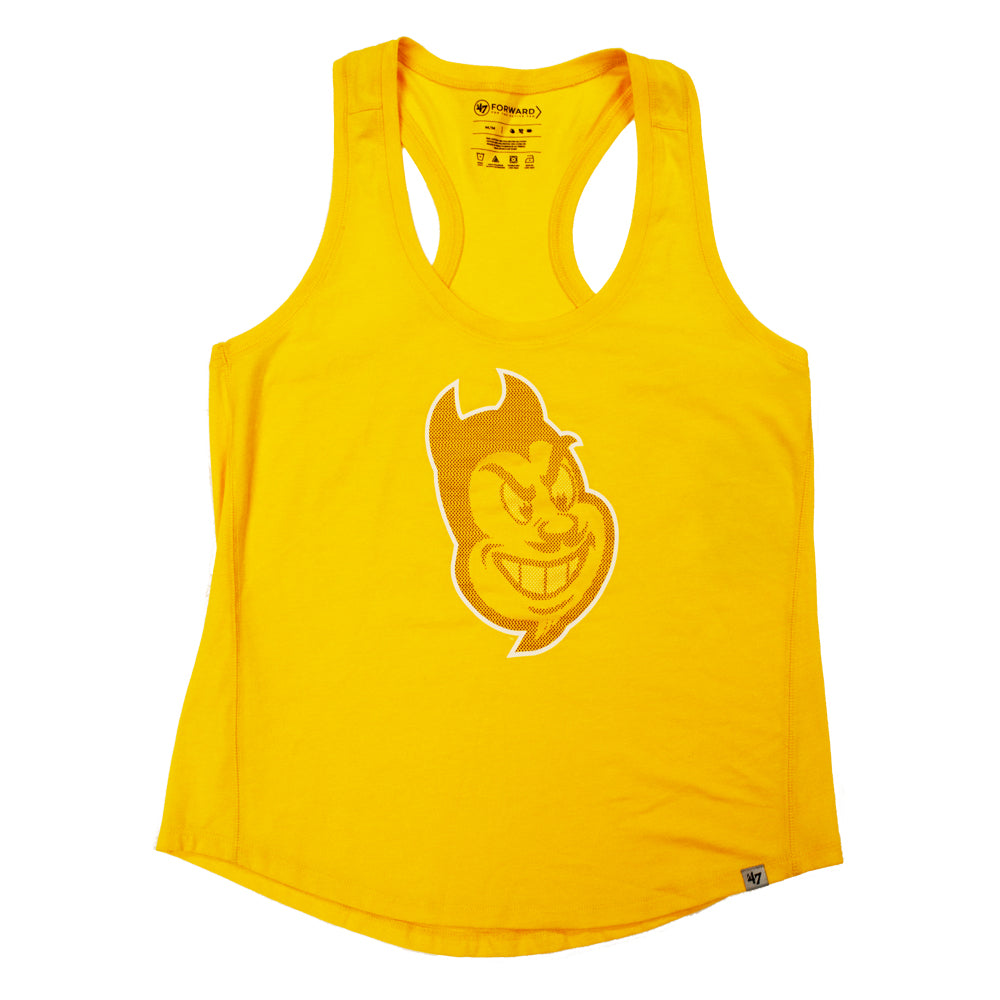 NCAA Arizona State Sun Devils Women's '47 Forward Tank - Gold