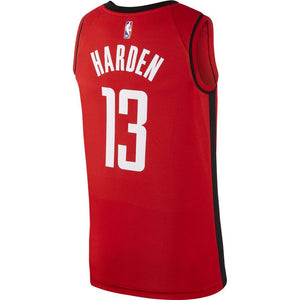 NBA Houston Rockets James Harden Nike Icon Swingman Jersey - Red