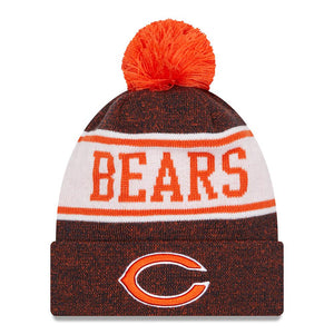 NFL Chicago Bears New Era Banner Knit - Navy/Orange