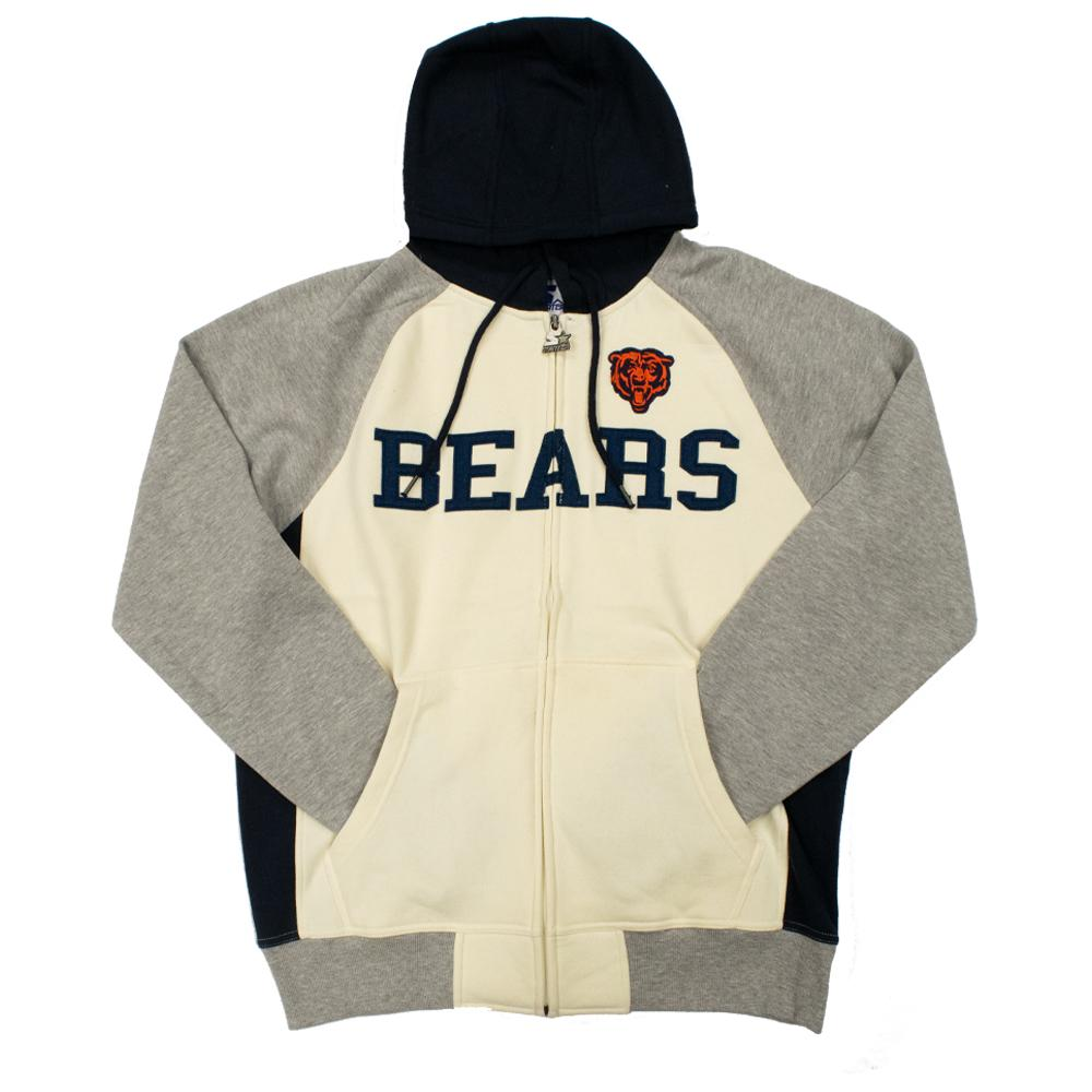 NFL Chicago Bears Starter Pinnacle Full-Zip Jacket - White