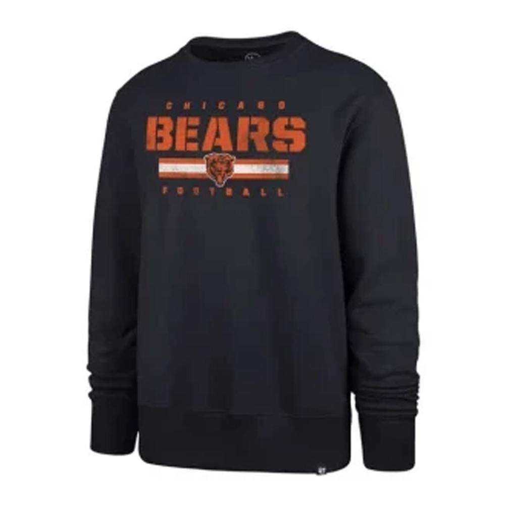 NFL Chicago Bears '47 Stencil Crew Neck - Navy