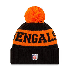 NFL Cincinnati Bengals New Era 2020 Onfield Sport Knit - Black/Orange