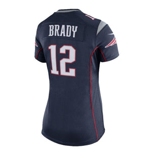 NFL New England Patriots Tom Brady Women's Nike Game Jersey - Navy