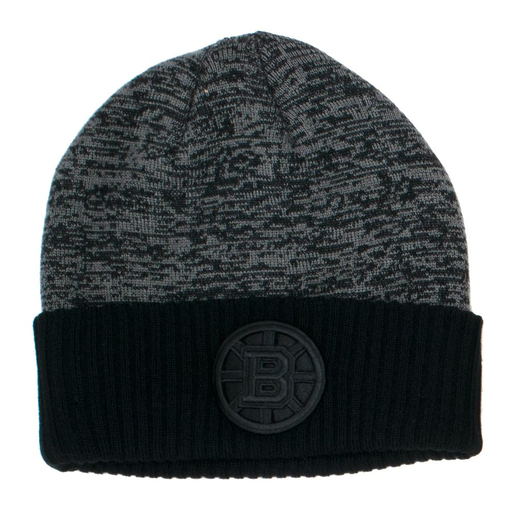 NHL Boston Bruins Fanatics Black Ice Travel Knit - Black