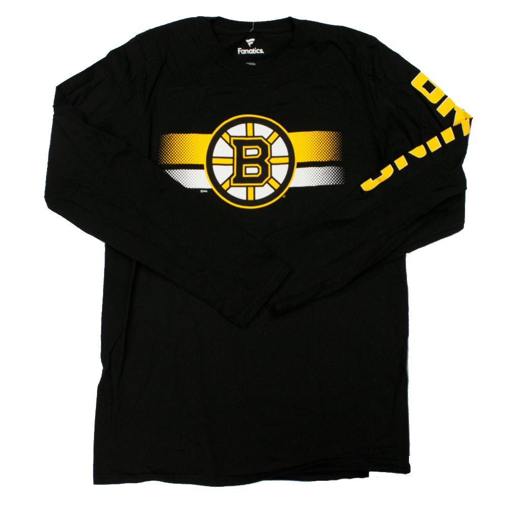 NHL Boston Bruins Fanatics Halftime Long Sleeve Tee - Black