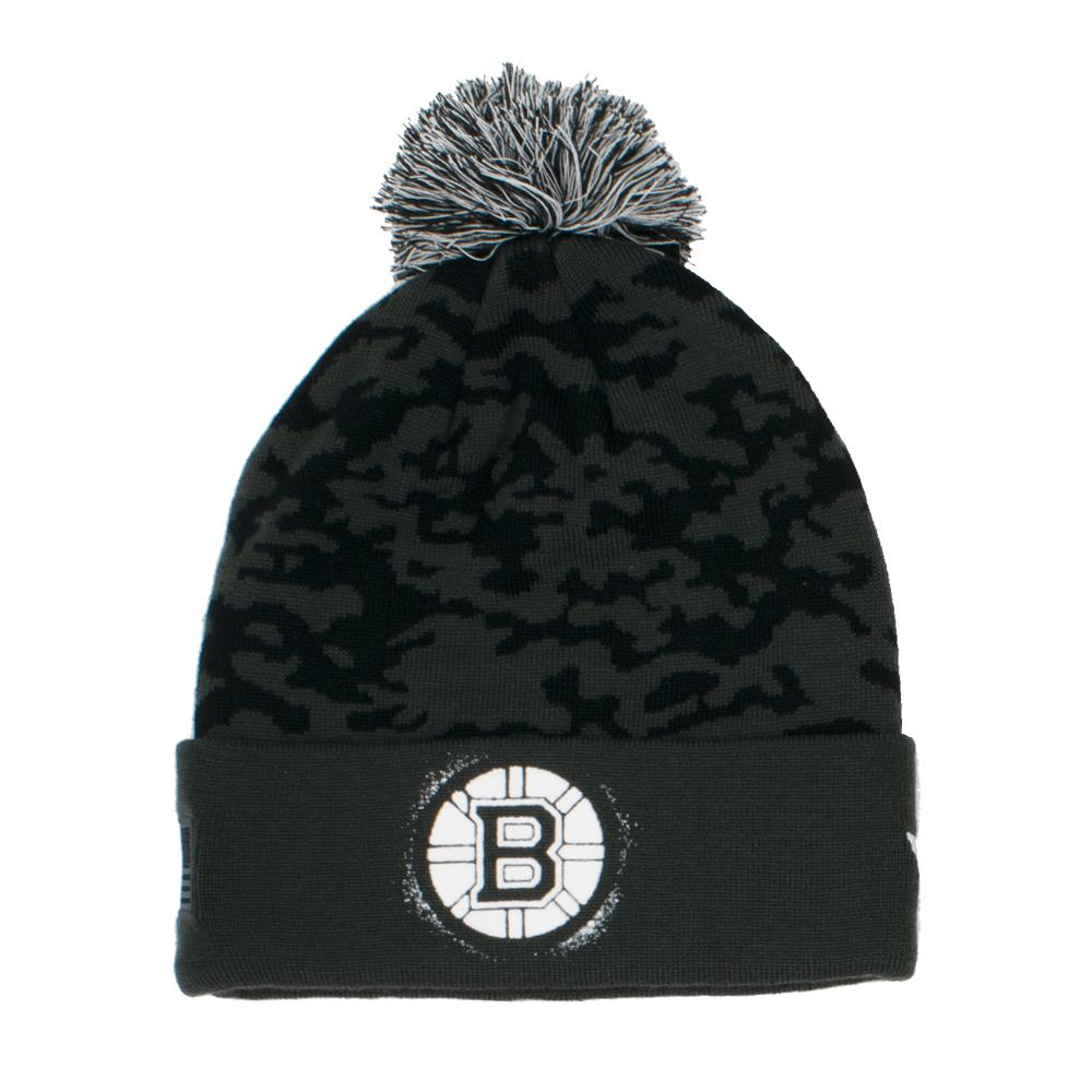 NHL Boston Bruins Fanatics Military Appreciation Knit - Black