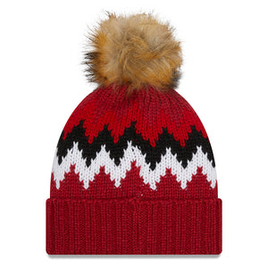NFL Arizona Cardinals Women's New Era Glacier Knit - Red