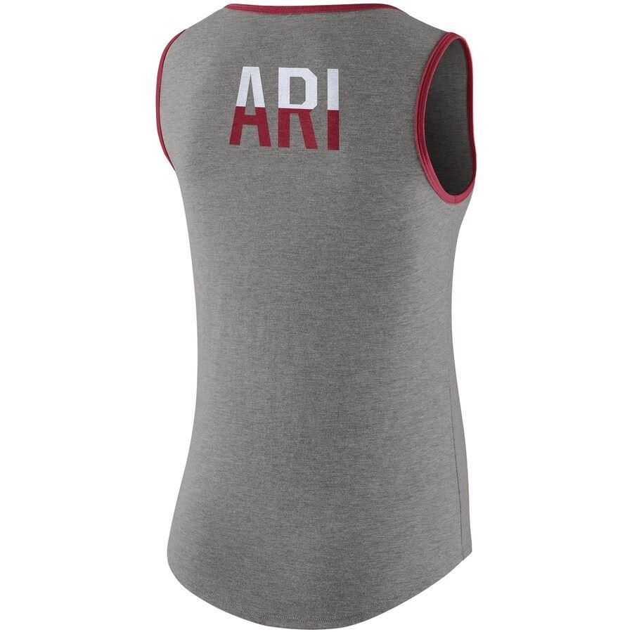 NFL Arizona Cardinals Women's Nike Standard Tank - Gray