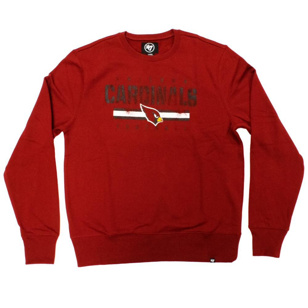 NFL Arizona Cardinals '47 Stencil Crew Neck - Red
