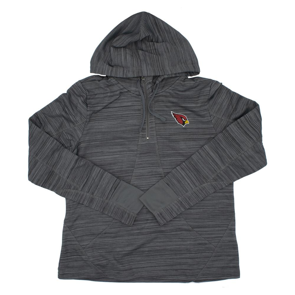 NFL Arizona Cardinals Women's '47 Annabelle 1/4 Zip - Charcoal