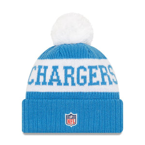 NFL Los Angeles Chargers New Era 2020 Onfield Sport Knit - Blue/White