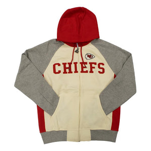 NFL Kansas City Chiefs Starter Pinnacle Full-Zip Jacket - White
