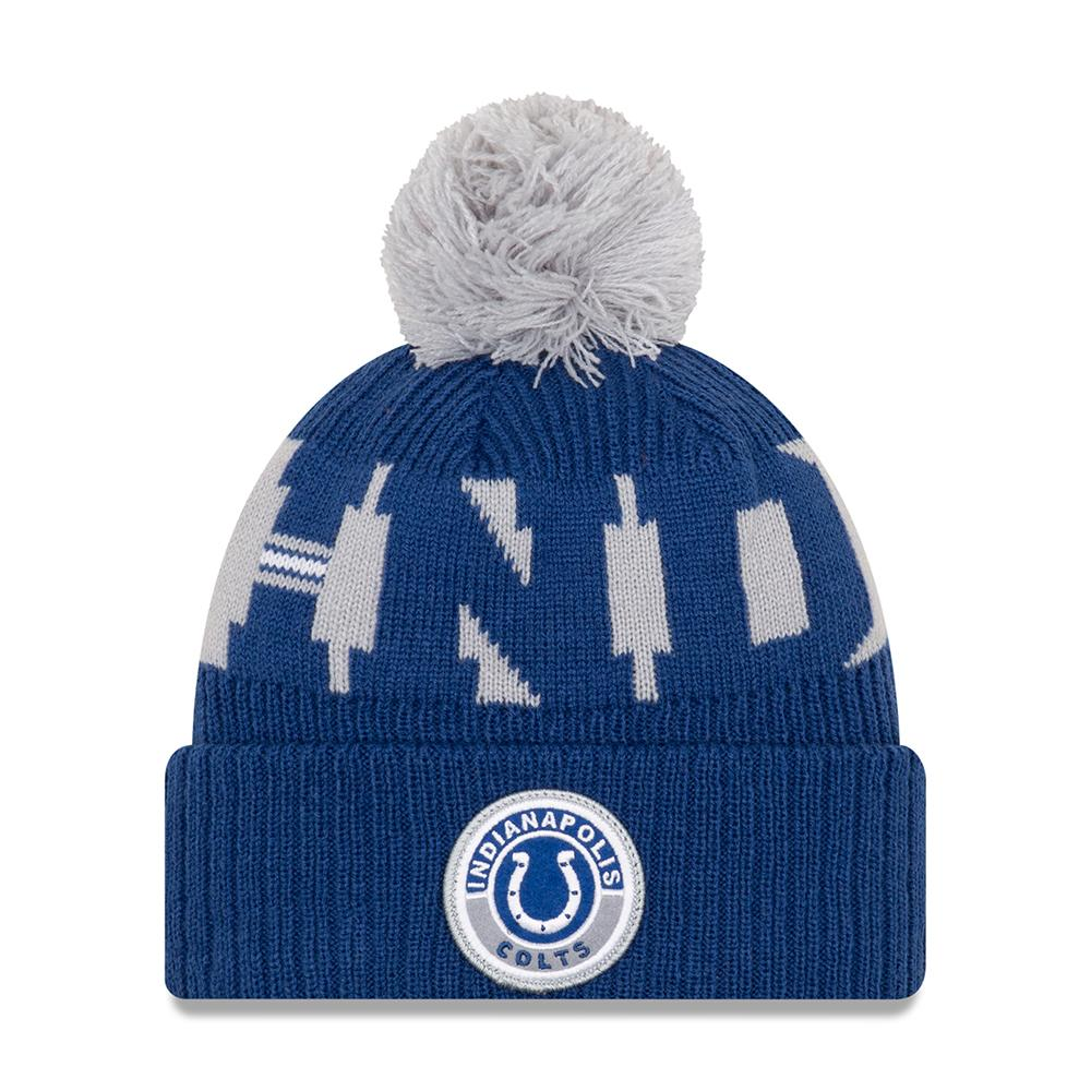 NFL Indianapolis Colts New Era 2020 Onfield Sport Knit - Blue/Gray