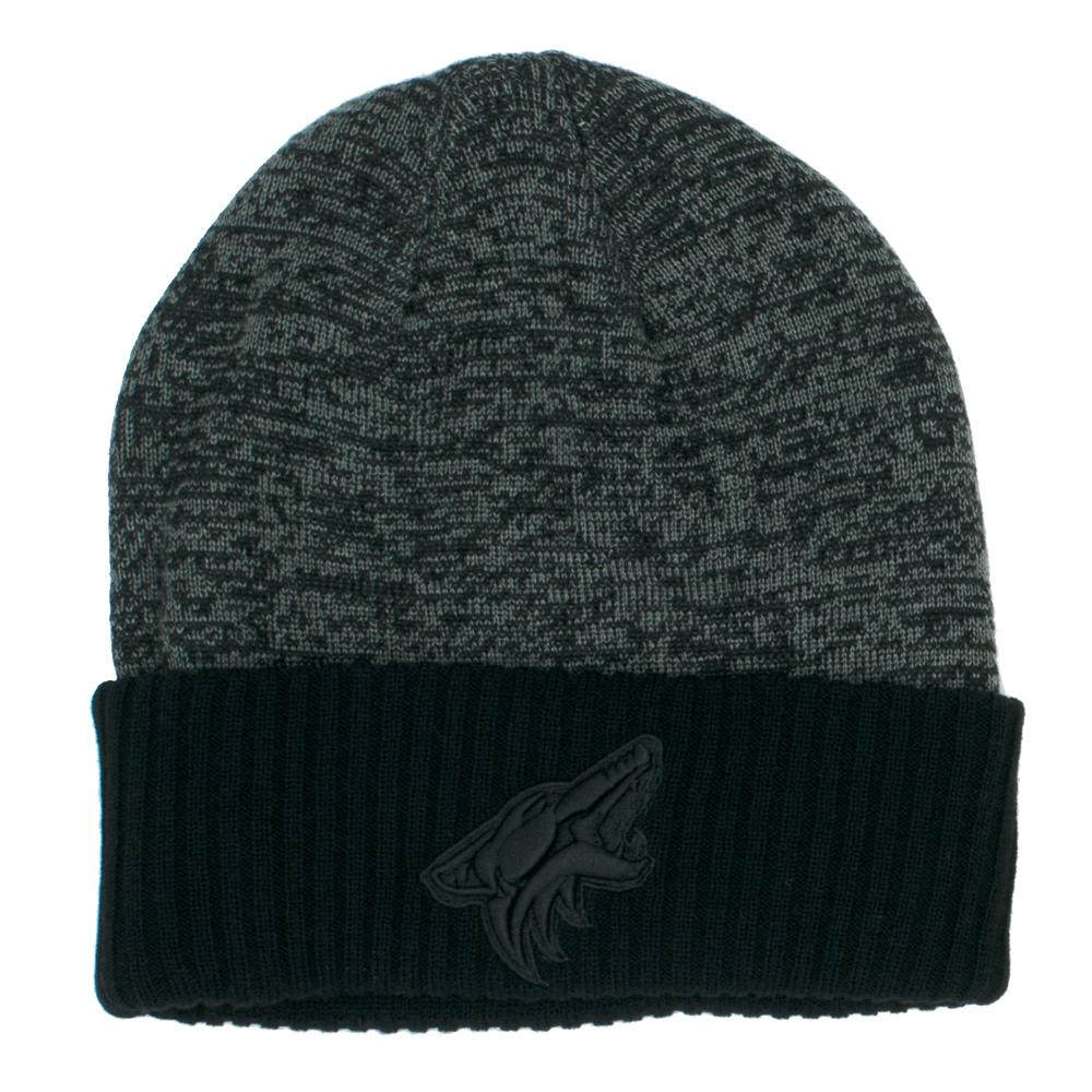 NHL Arizona Coyotes Fanatics Black Ice Travel Knit - Black