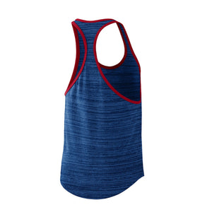 MLB Chicago Cubs Women's Nike Dry Racer Tank - Blue