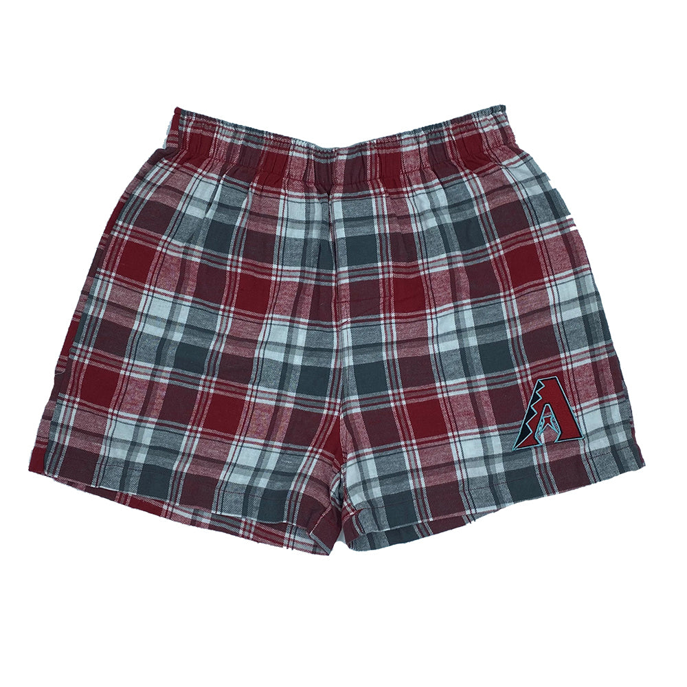 MLB Arizona Diamondbacks Concepts Sport Flannel Boxers - Red