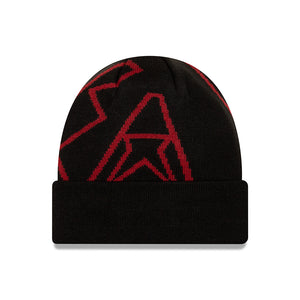 MLB Arizona Diamondacks New Era Logo Whiz Knit - Black