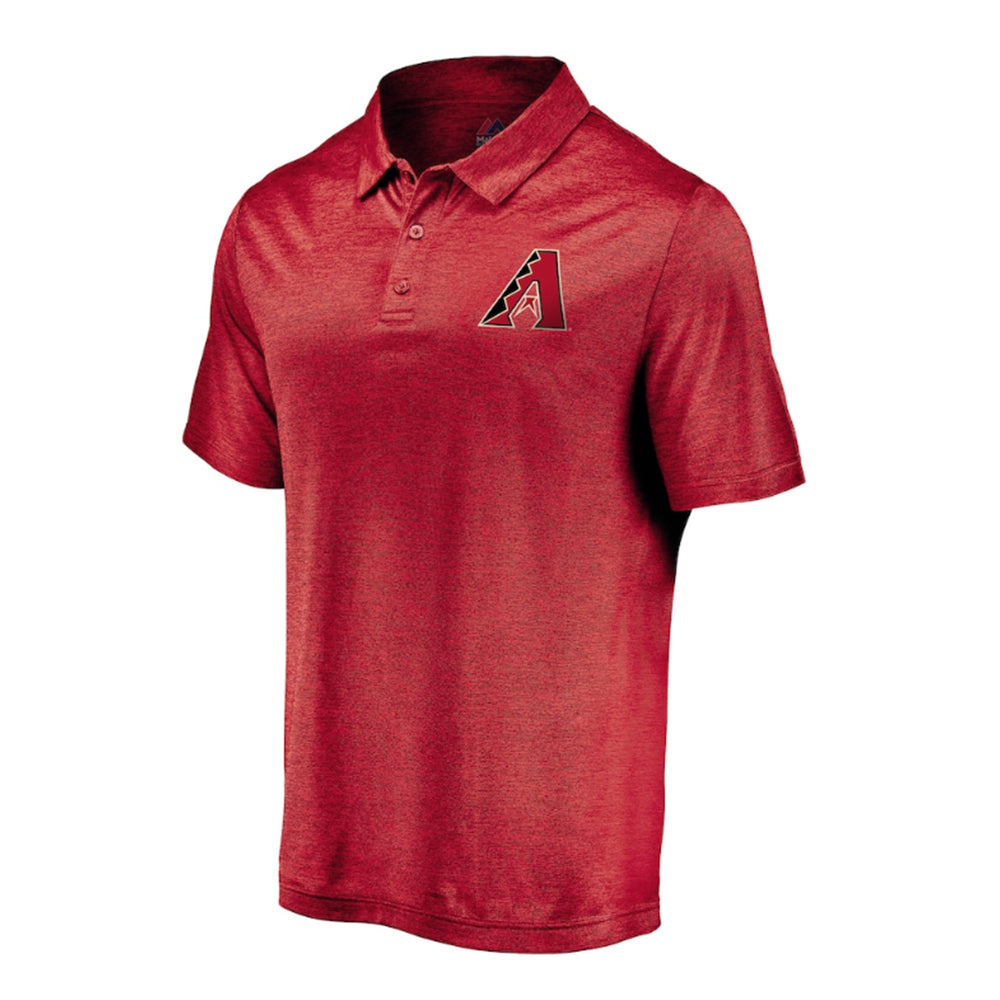 MLB Arizona Diamondbacks Majestic Positive Production Polo - Red