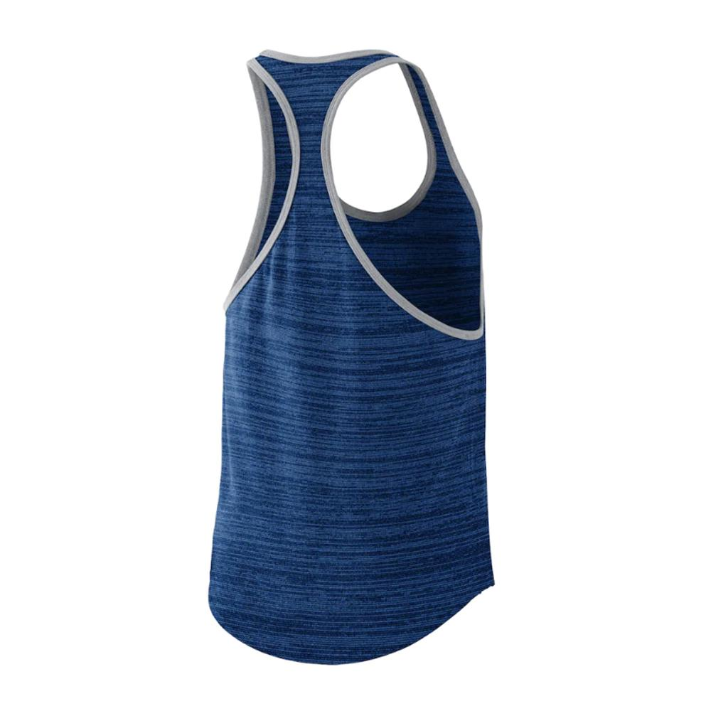 MLB Los Angeles Dodgers Women's Dry Racer Tank - Blue
