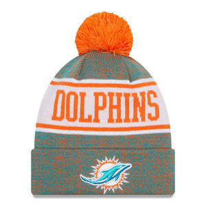 NFL Miami Dolphins New Era Banner Knit - Aqua/Orange
