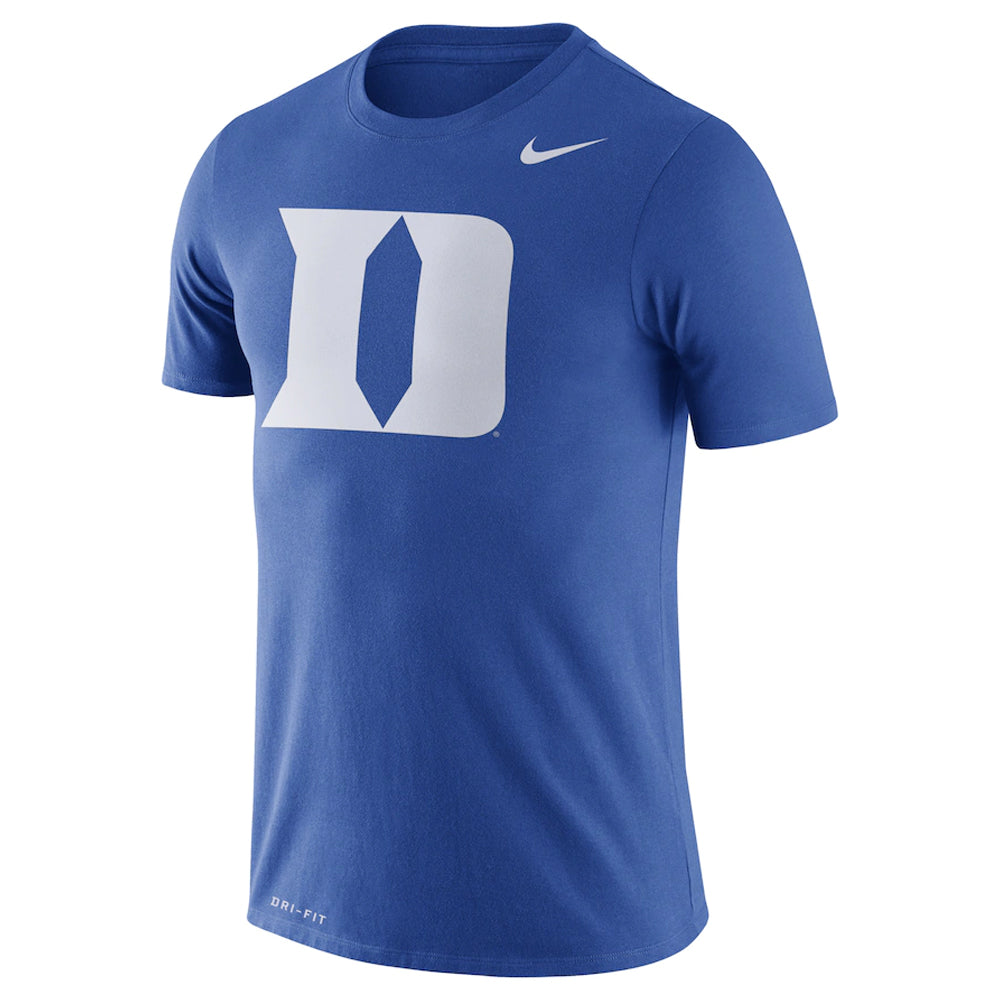 NCAA Duke Blue Devils Nike Dri-Fit Cotton Logo - Blue
