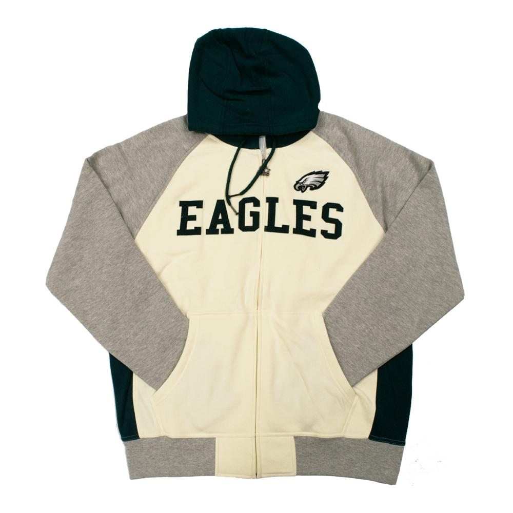 NFL Philadelphia Eagles Starter Pinnacle Full-Zip Jacket - White