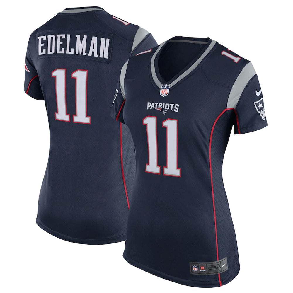 NFL New England Patriots Julian Edelman Women's Nike Game Jersey - Navy
