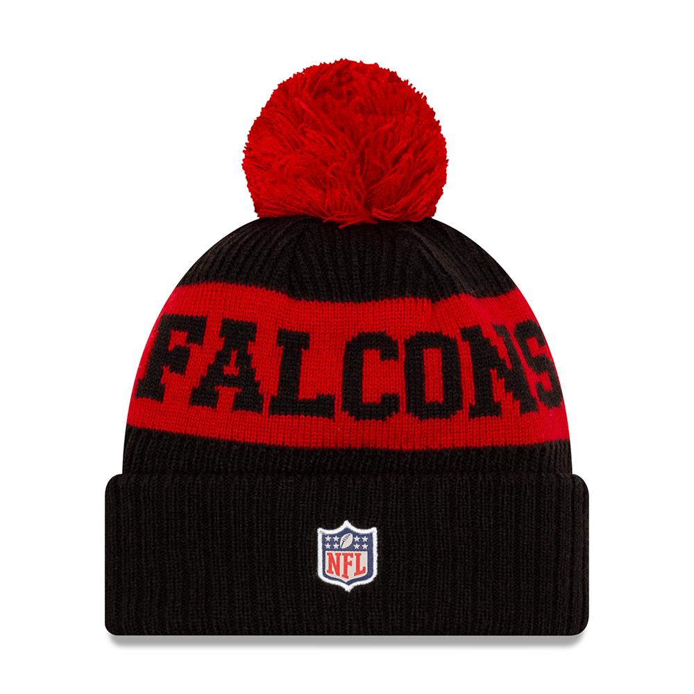NFL Atlanta Falcons New Era 2020 Onfield Sport Knit - Black/Red