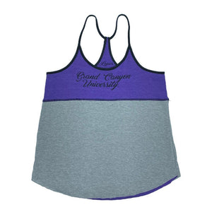 NCAA Grand Canyon Antelopes Women's Colosseum Verona Reversible Tank - Purple