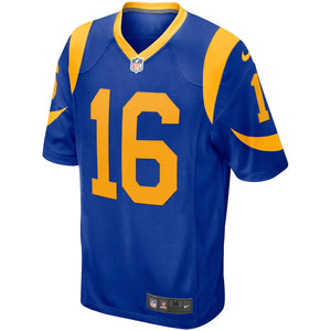 NFL Los Angeles Ram Jared Goff Nike Game Jersey - Blue