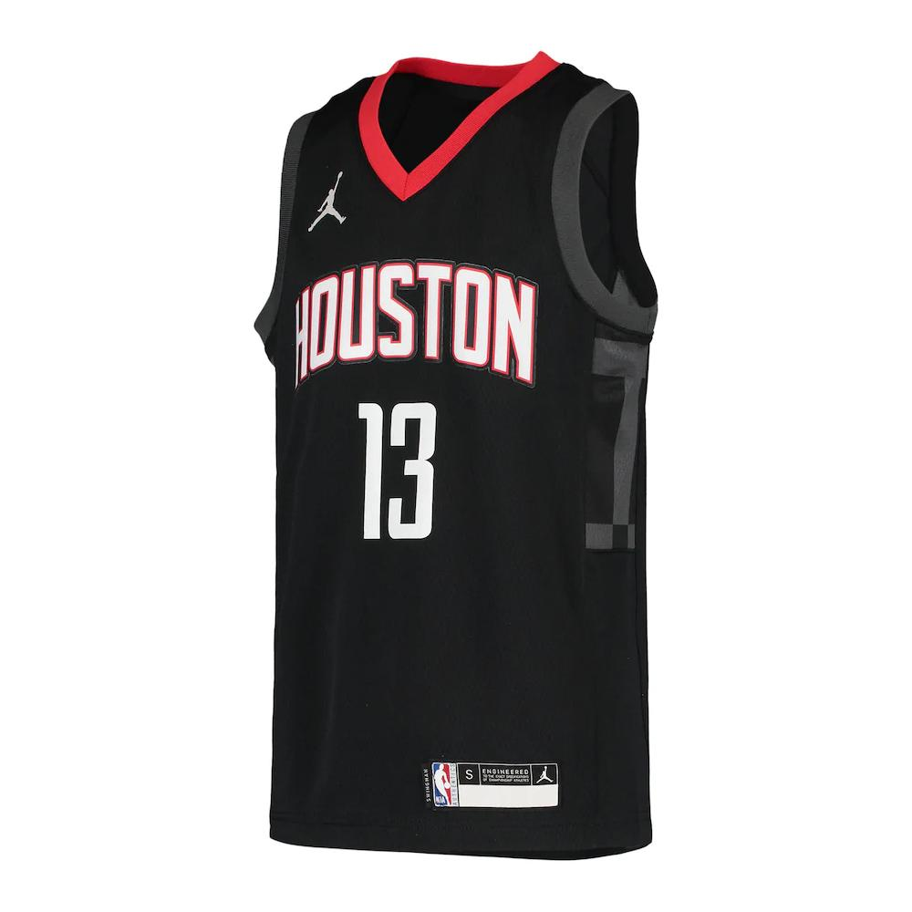 NBA Houston Rockets James Harden Youth Jordan Statement Jersey - Black