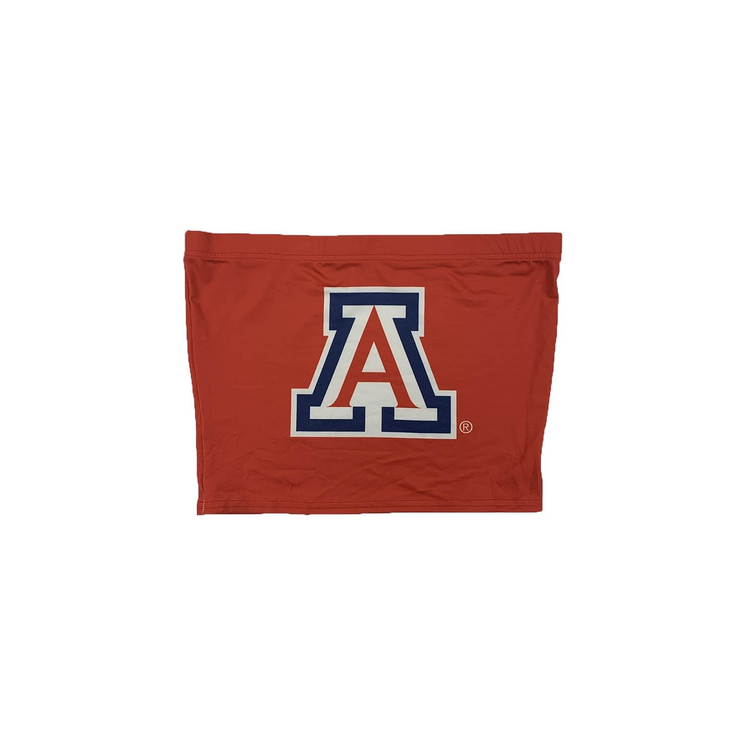 NCAA Arizona Wildcats Women's Zoozatz Freedom Tube Top - Red