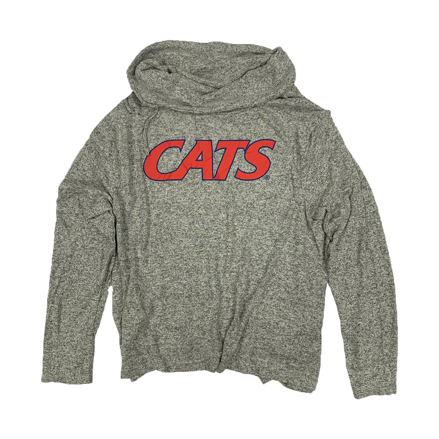NCAA Arizona Wildcats Women's Zoozatz Stadium Sweater - Gray