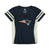 NFL New England Patriots Women's '47 Draft Me Turnover Vneck - Navy