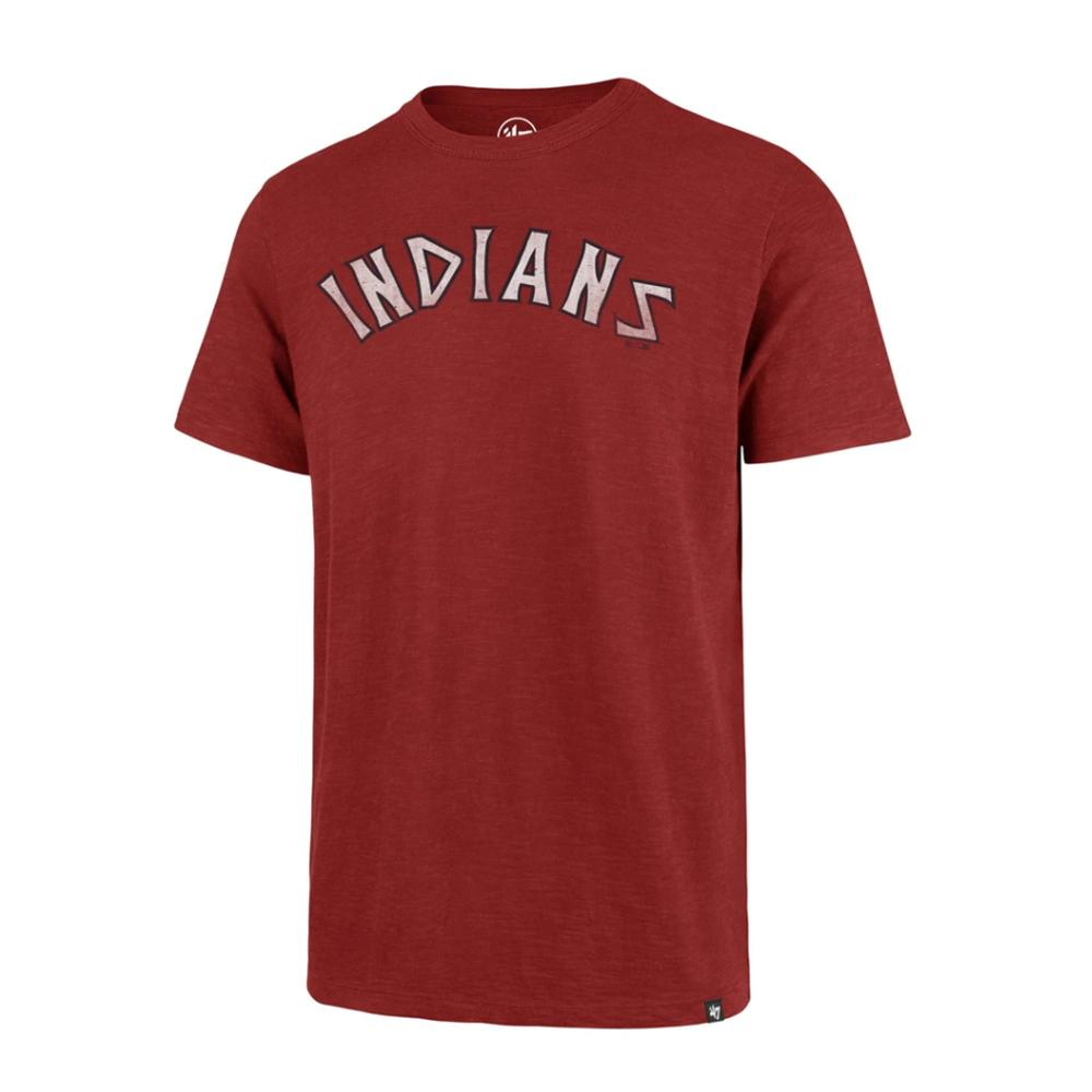 MLB Cleveland Indians '47 Grit Scrum Tee - Red
