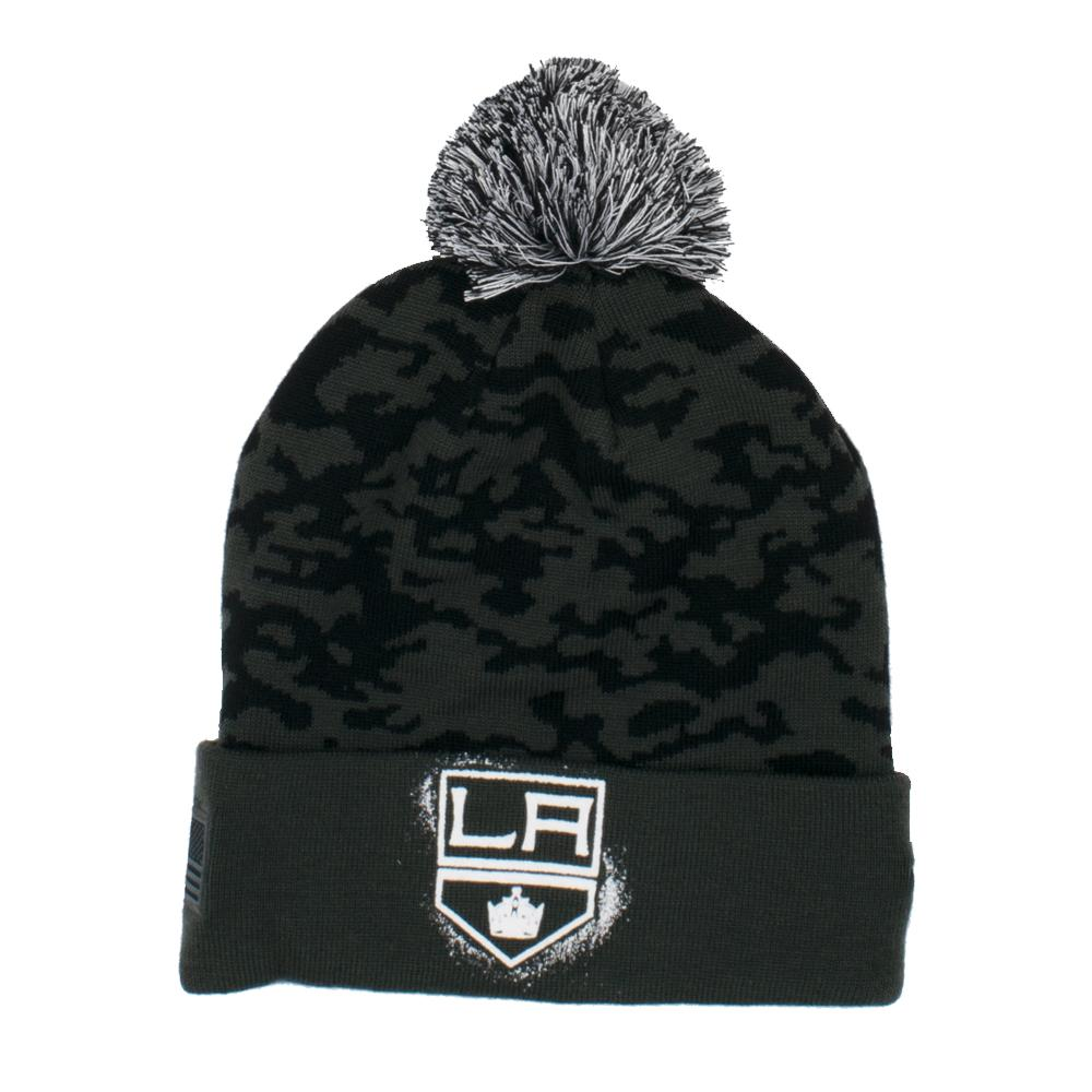 NHL Los Angeles Kings Fanatics Military Appreciation Knit - Black