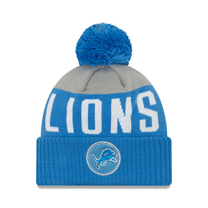 NFL Detroit Lions New Era Patch Knit - Blue