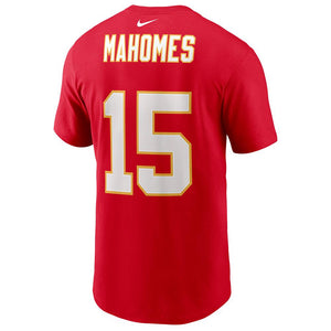 NFL Kansas City Chiefs Patrick Mahomes Nike Super Bowl LV Name & Number Tee - Red