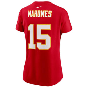 NFL Kansas City Chiefs Patrick Mahomes Women's Nike Super Bowl LV Name & Number Tee - Red