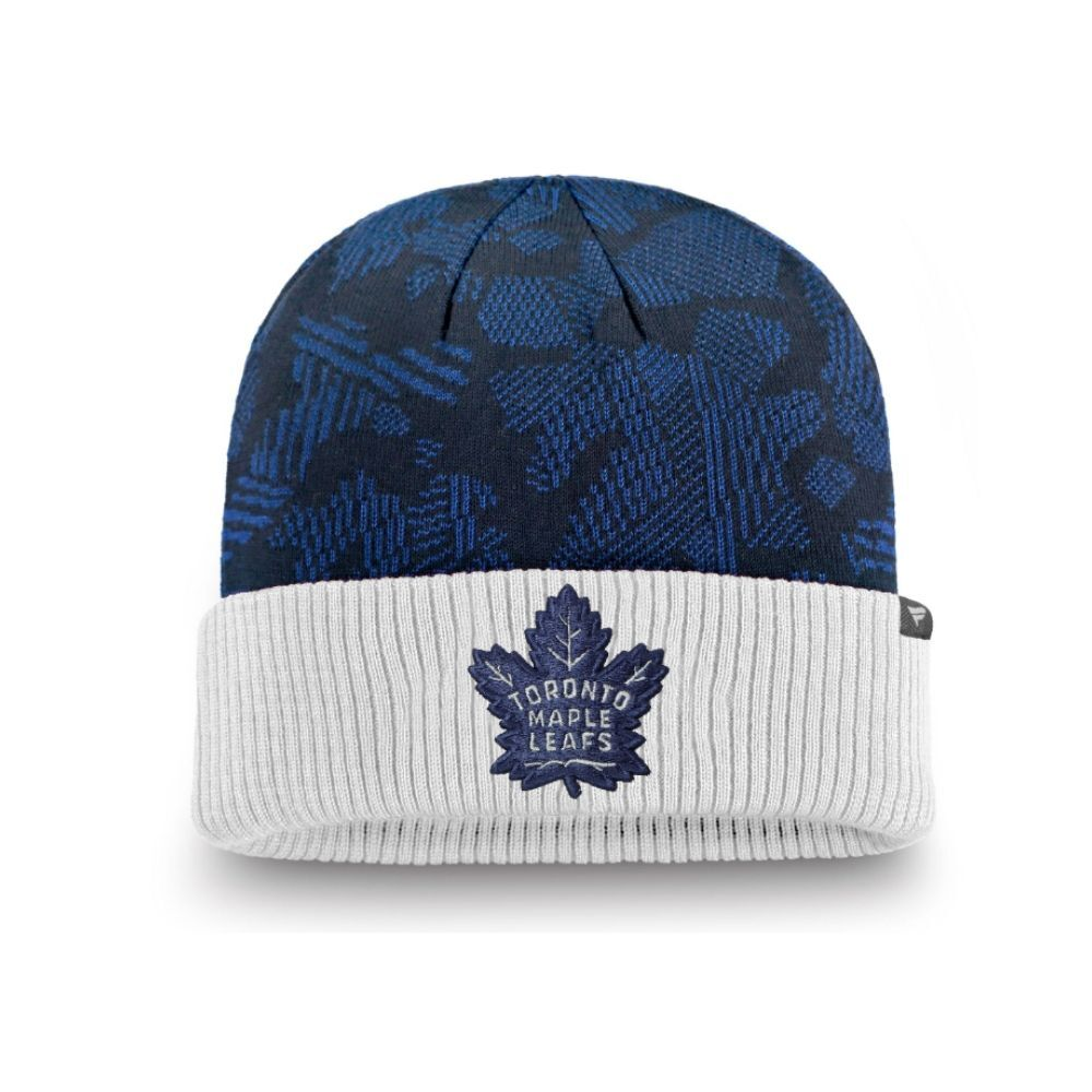 NHL Toronto Maple Leafs Fanatics Iconic Cuffed Knit - Blue