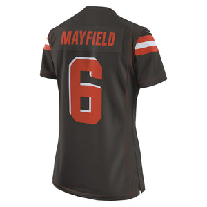 NFL Cleveland Browns Baker Mayfield Women's Nike Game Jersey - Brown